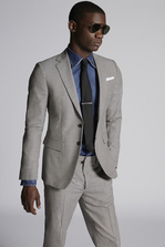 DSQUARED2 Check Wool Manchester Suit Set Man