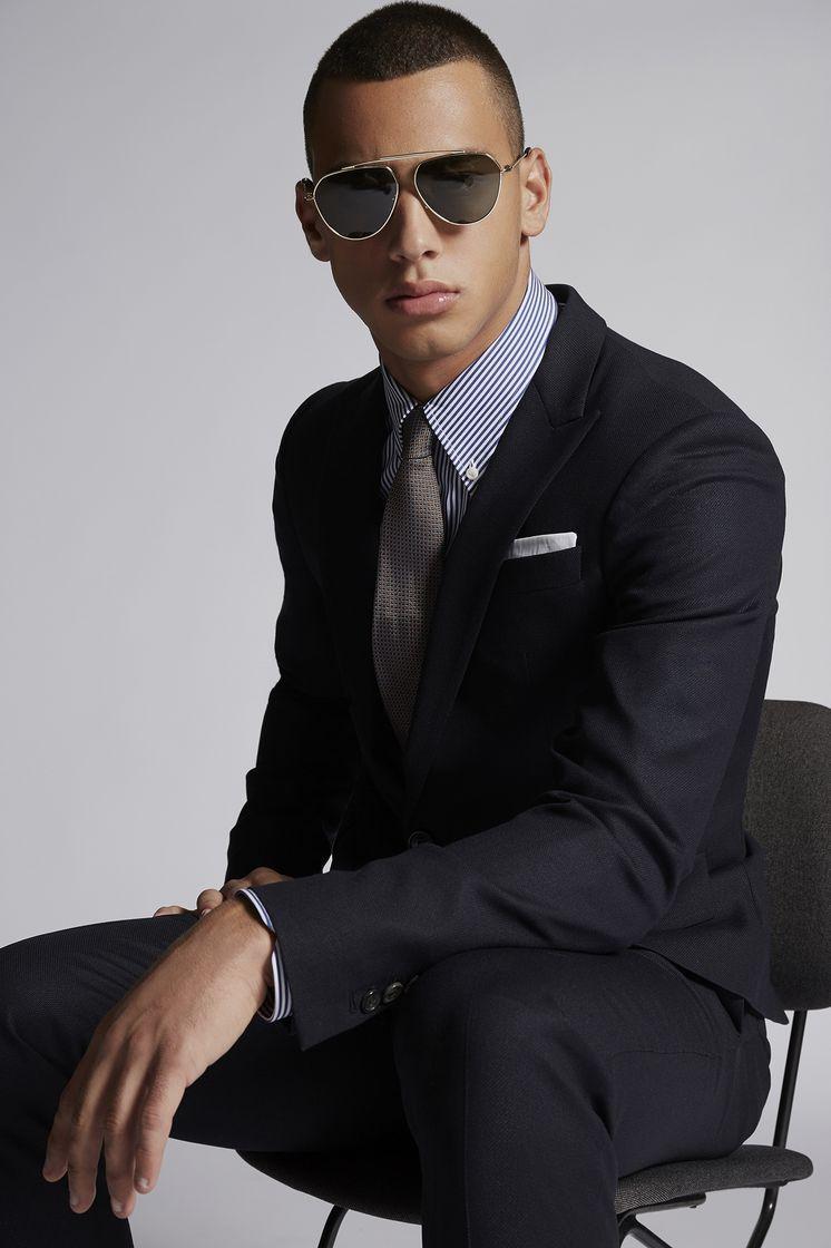 DSQUARED2 Textured Wool Tokyo Suit Комплект Для Мужчин