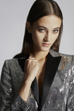 DSQUARED2 Sequined Emmalynn Rodeo Blazer Blazer Woman
