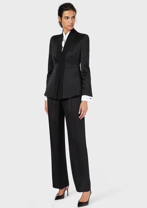 big sale eedc4 40f91 Women's Tuxedos | Giorgio Armani
