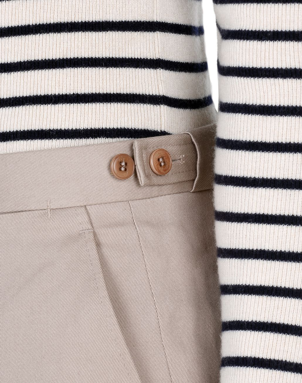 BRIONI Beige Chino Trousers   Trousers [*** pickupInStoreShippingNotGuaranteed_info ***] a