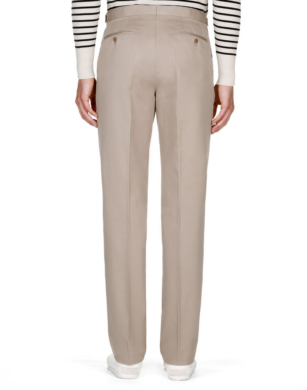 BRIONI Beige Chino Trousers   Trousers [*** pickupInStoreShippingNotGuaranteed_info ***] d