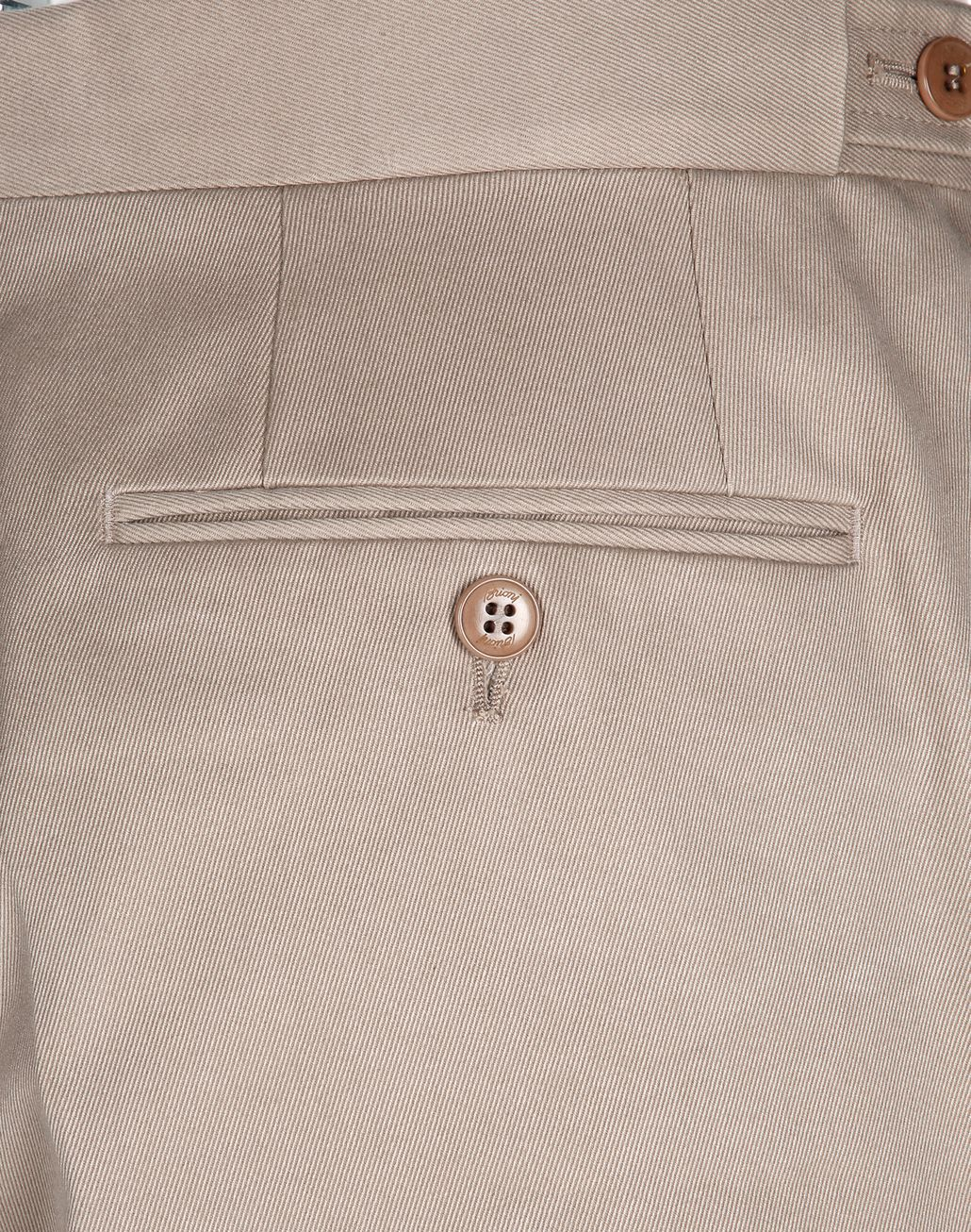 BRIONI Beige Chino Trousers   Trousers [*** pickupInStoreShippingNotGuaranteed_info ***] e