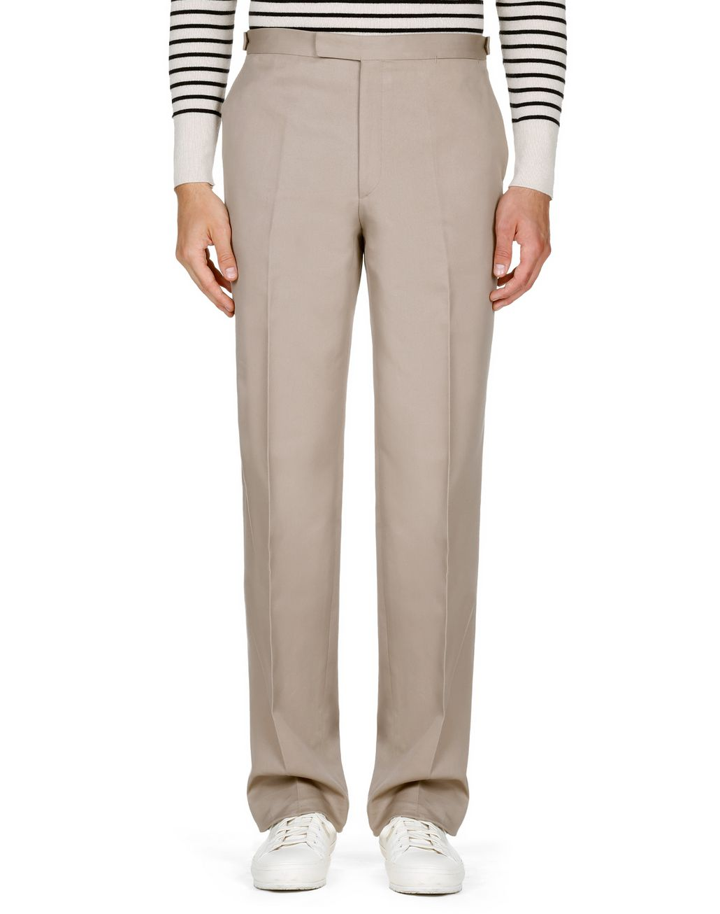 BRIONI Beige Chino Trousers   Trousers [*** pickupInStoreShippingNotGuaranteed_info ***] r
