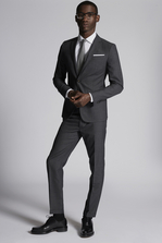 DSQUARED2 Pin Stripe Wool Paris Suit Suit Man