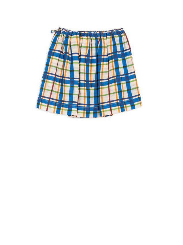 Marni ラミーファブリック スカート オールオーバーチェックプリント レディース - 1