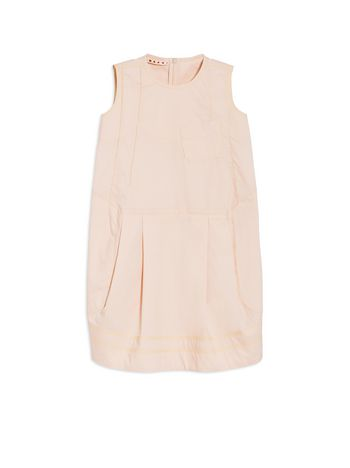 Marni SLEEVELESS COTTON POPELINE DRESS Woman