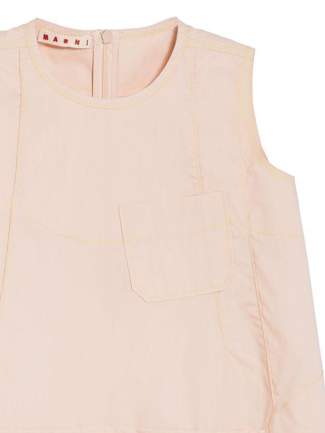 Marni SLEEVELESS COTTON POPELINE DRESS Woman - 4