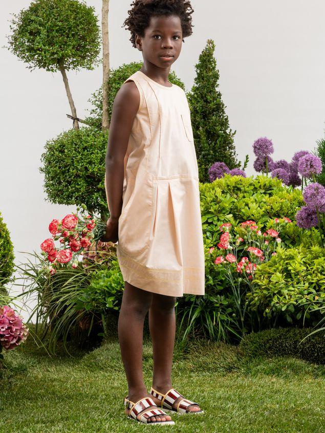 Marni SLEEVELESS COTTON POPELINE DRESS Woman - 2
