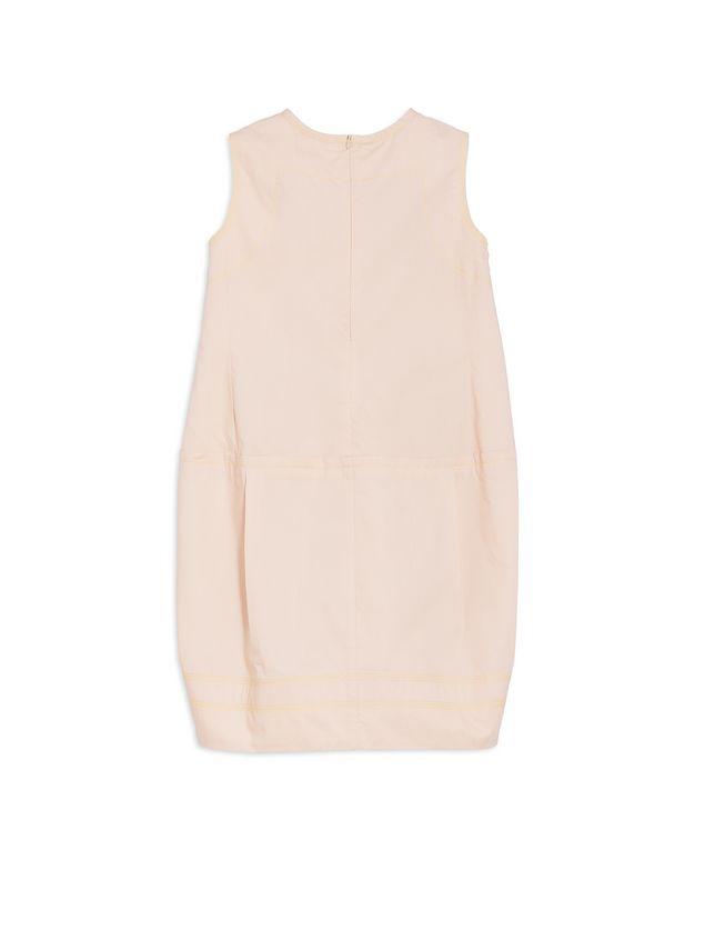 Marni SLEEVELESS COTTON POPELINE DRESS Woman - 3