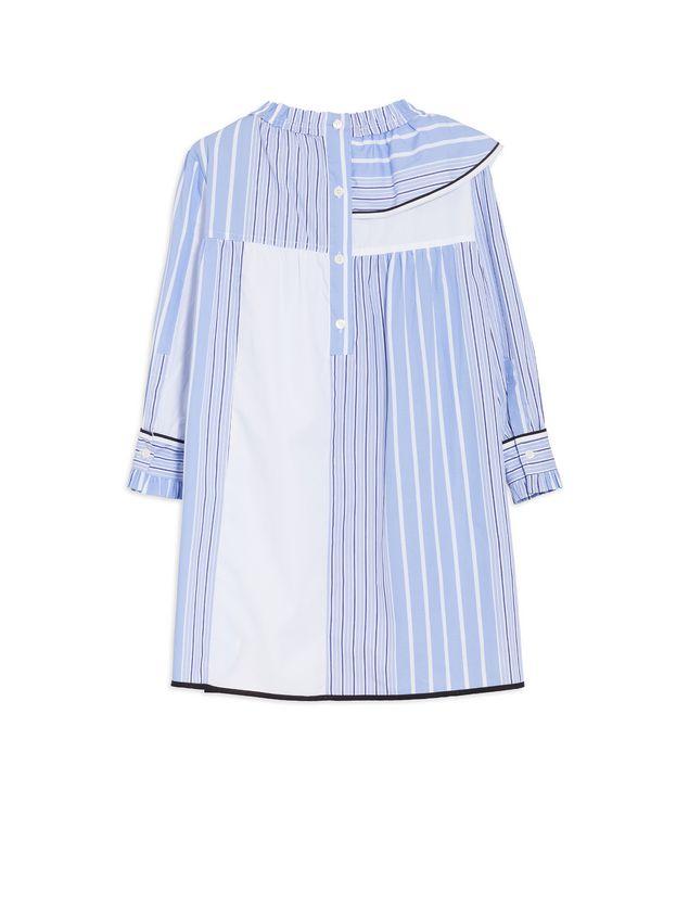 Marni LONG-SLEEVES DRESS IN DEGRADEE STRIPES COTTON POPELINE  Woman