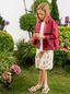 Marni Long-sleeves bordeaux cotton gabardine jacket  Woman - 2