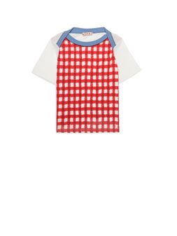 Marni Raglan t-shirt with Ingrid print on the front Woman