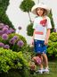 Marni Cotton T-shirt with print on the front Woman - 2