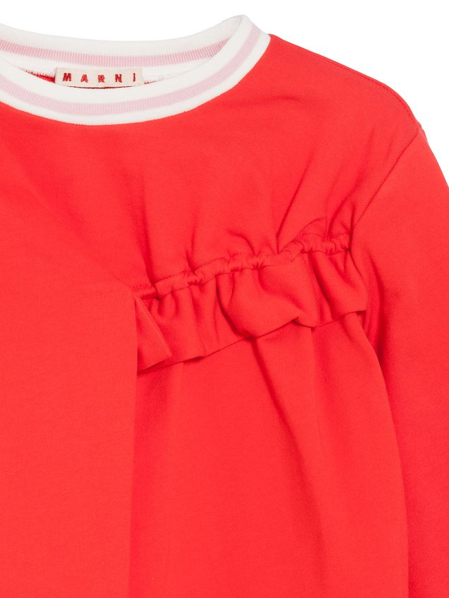 Marni Cotton sweatshirt with ruches Woman - 2