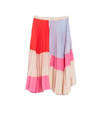 Marni Silk and Viscose plissé skirt Woman