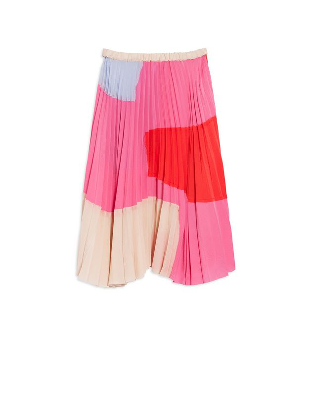 Marni Silk and Viscose plissé skirt Woman