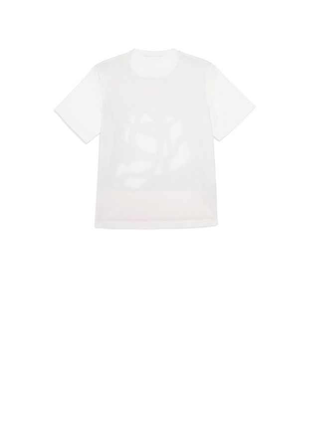 Marni Cotton T-shirt with Roma Print Woman - 3
