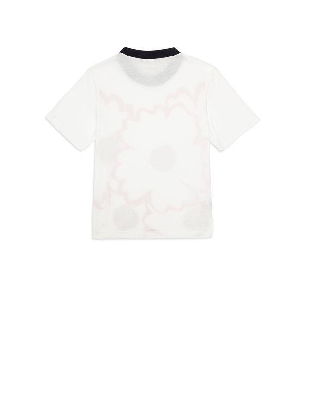 Marni Cotton T-shirt with print Woman