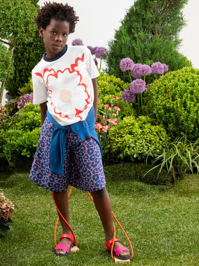 Marni Cotton T-shirt with print Woman - 2