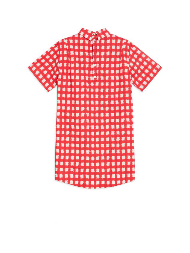 Marni Cotton popeline dress with Ingrid print Woman - 3