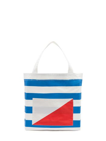 Marni Borsa in cotone Color Block Donna