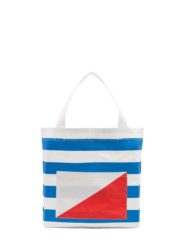 Marni Bag in cotton Color Block Woman - 1