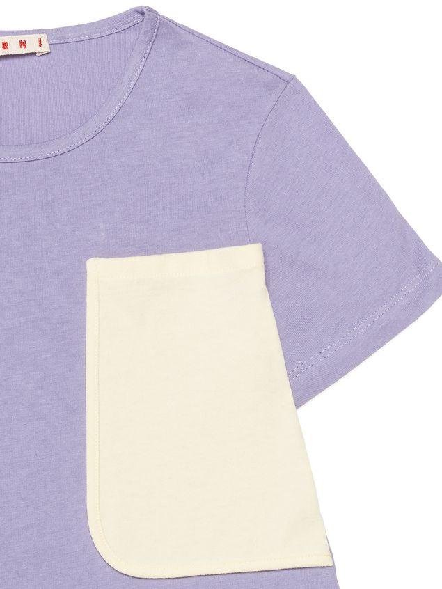 Marni  コットンTシャツ コントラスティングカラーポケット付き レディース - 4