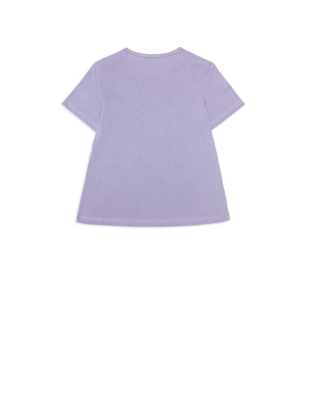 Marni  Cotton t-shirt with contrasting color pocket Woman - 3