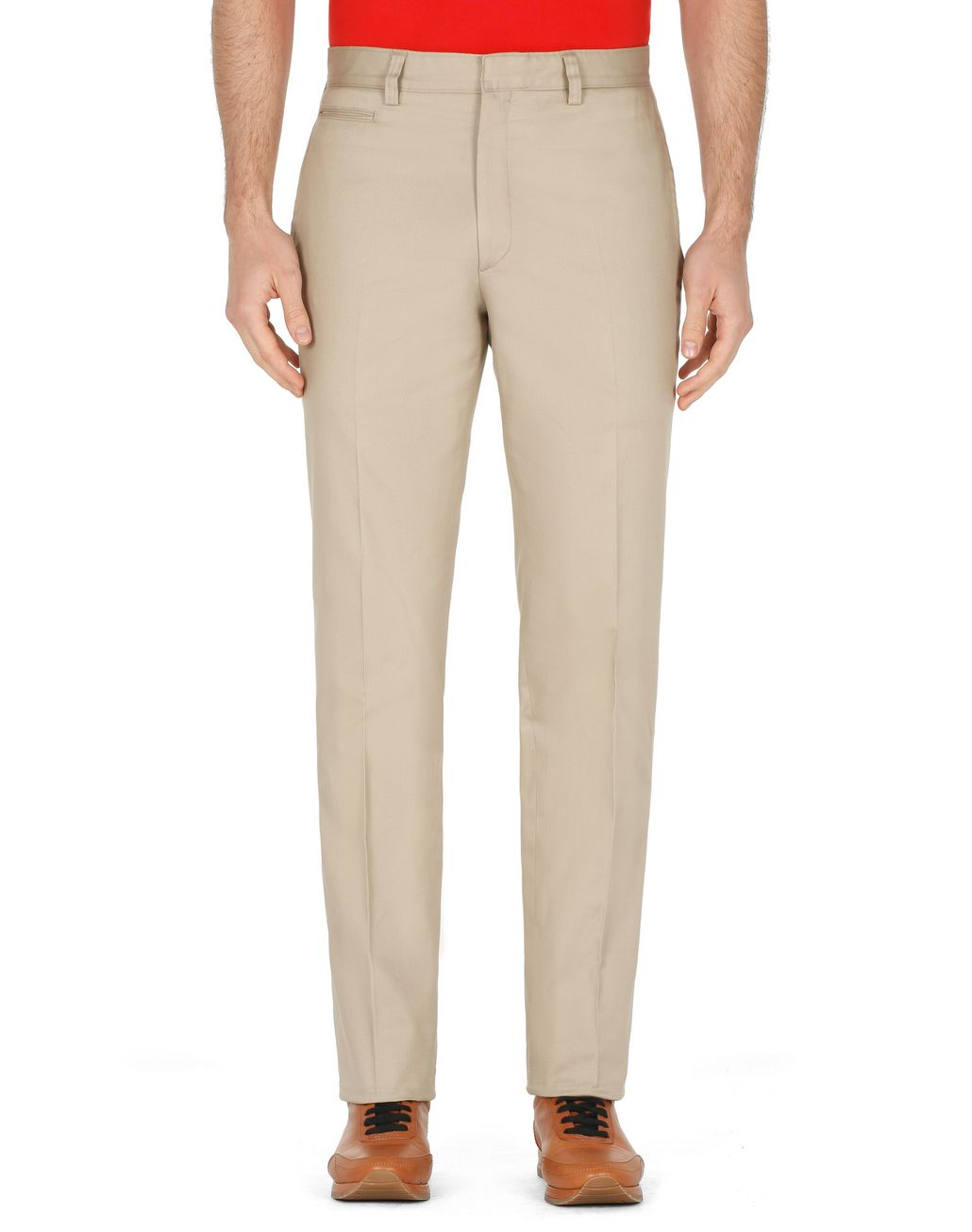 BRIONI Beige Trousers Trousers Man r