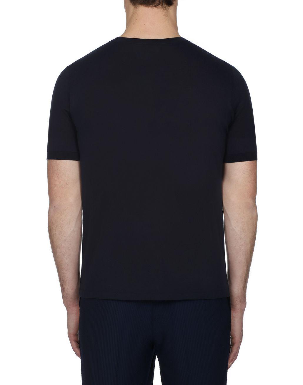 BRIONI Navy Blue T-Shirt T-Shirts & Polos [*** pickupInStoreShippingNotGuaranteed_info ***] d