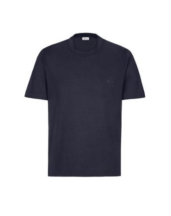 Navy Blue Crew-Neck T-Shirt
