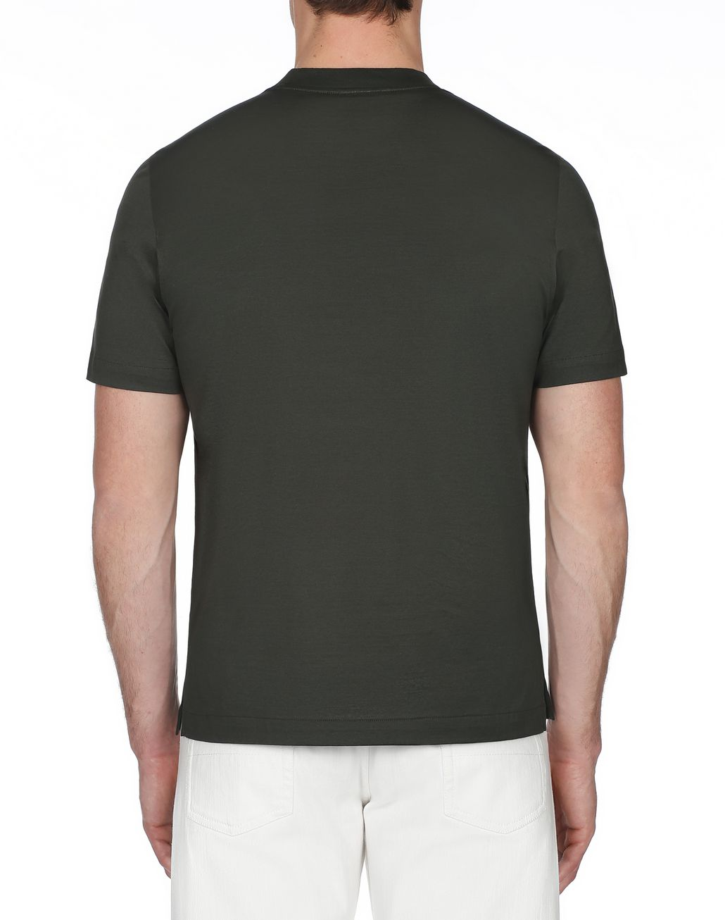BRIONI Green Crew Neck T-Shirt T-Shirts & Polos [*** pickupInStoreShippingNotGuaranteed_info ***] d