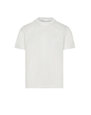 白色圆领 T 恤