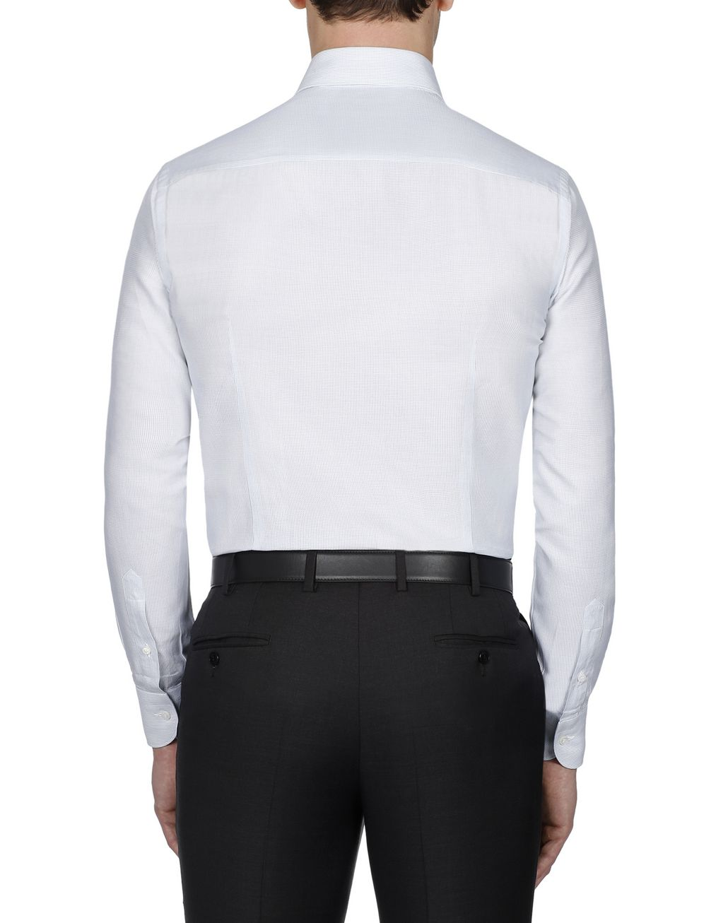 BRIONI Green Micro Designed Shirt Formal shirt Man d