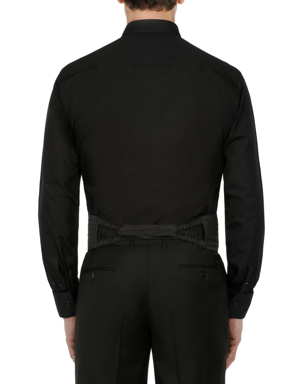 BRIONI Black Evening Shirt Formal shirt [*** pickupInStoreShippingNotGuaranteed_info ***] d