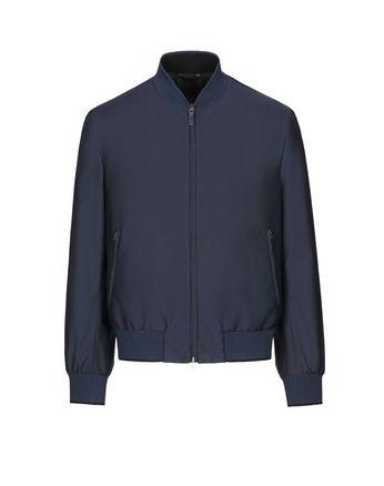 Тёмно-синий блузон
