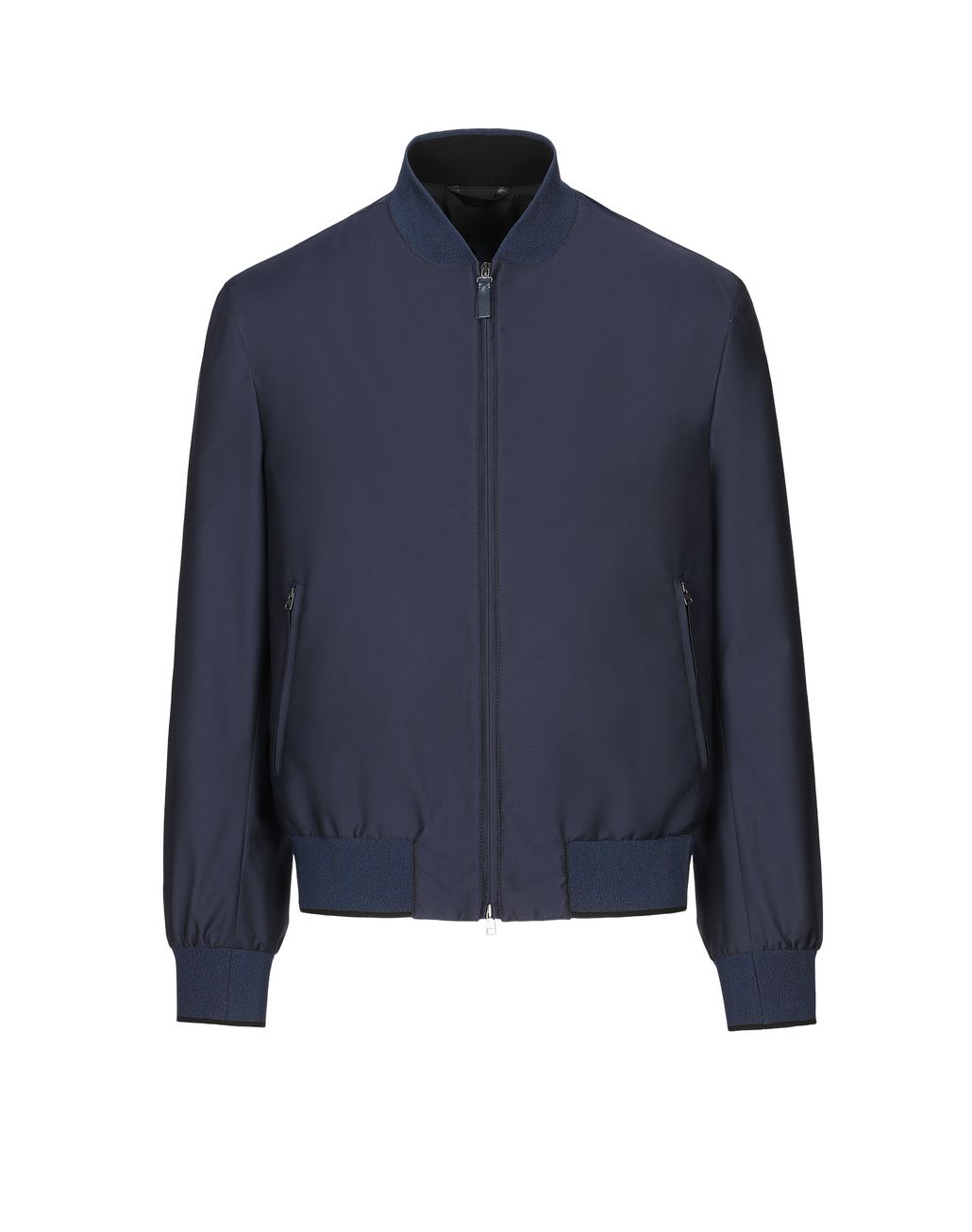BRIONI Navy Blue Blouson Outerwear [*** pickupInStoreShippingNotGuaranteed_info ***] f