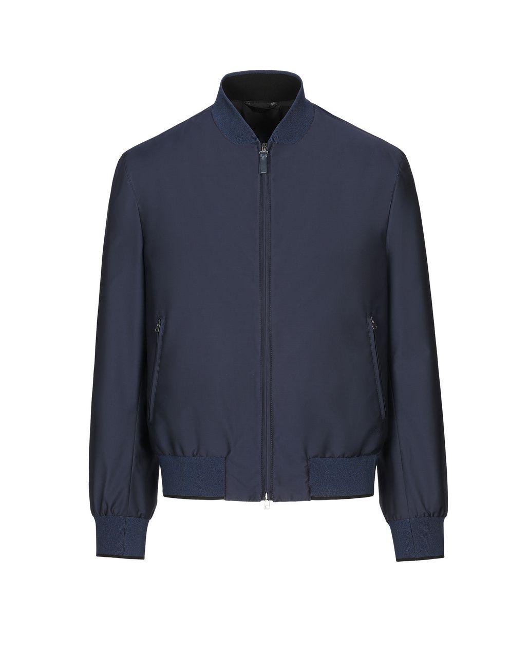 BRIONI Тёмно-синий блузон Верхняя одежда Для Мужчин f