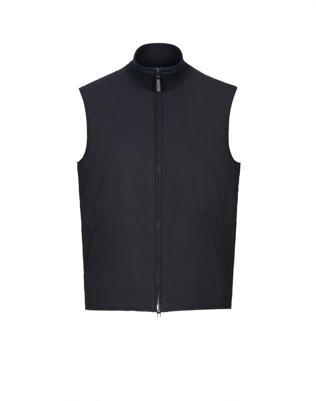 BRIONI Blue Reversible Vest Outerwear [*** pickupInStoreShippingNotGuaranteed_info ***] f
