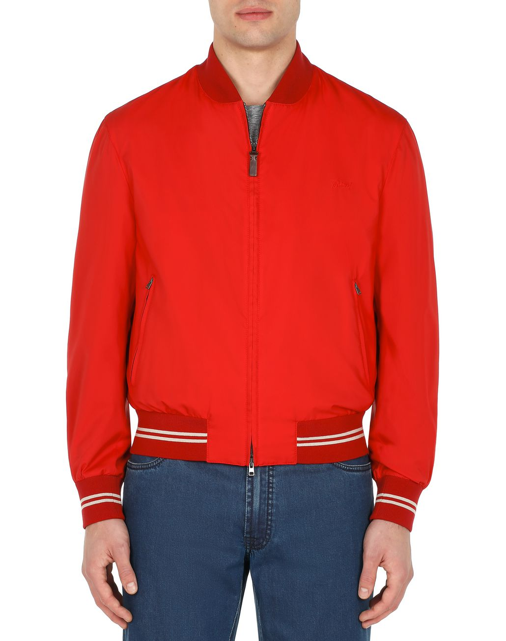 BRIONI Red Blouson Outerwear [*** pickupInStoreShippingNotGuaranteed_info ***] r