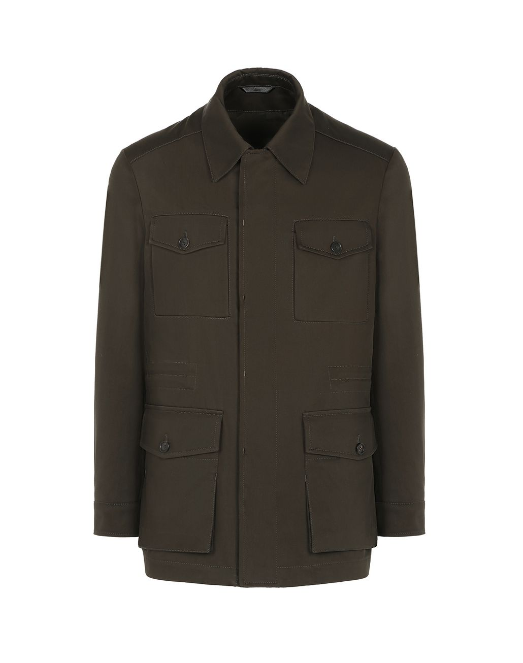 BRIONI Green Field Jacket Outerwear Man f