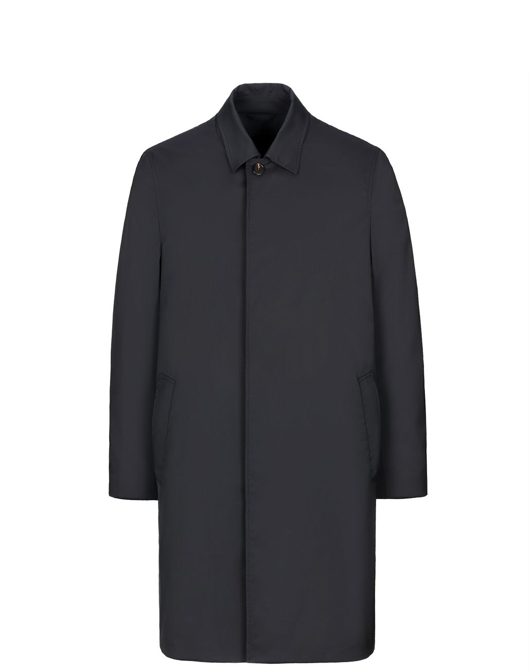 BRIONI Black Foldable Car Coat Outerwear Man f