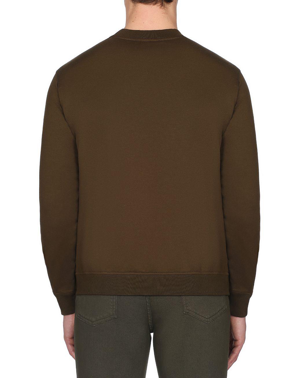 BRIONI Green Brioni Sweatshirt Knitwear Man d