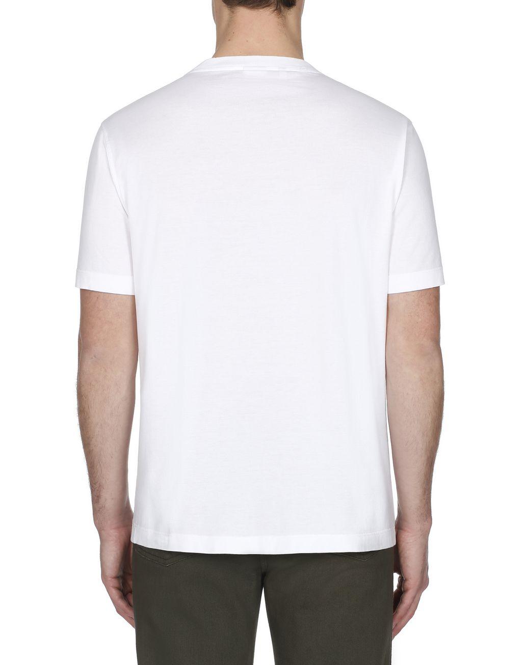 BRIONI White Brioni Design T-Shirt T-Shirts & Polos [*** pickupInStoreShippingNotGuaranteed_info ***] d