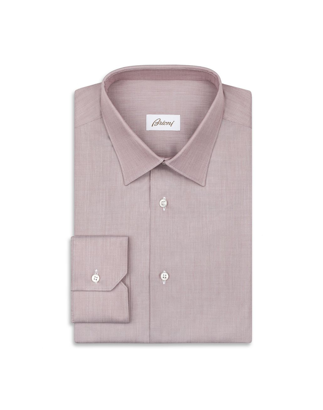 BRIONI Bordeaux Formal Shirt   Formal shirt Man f