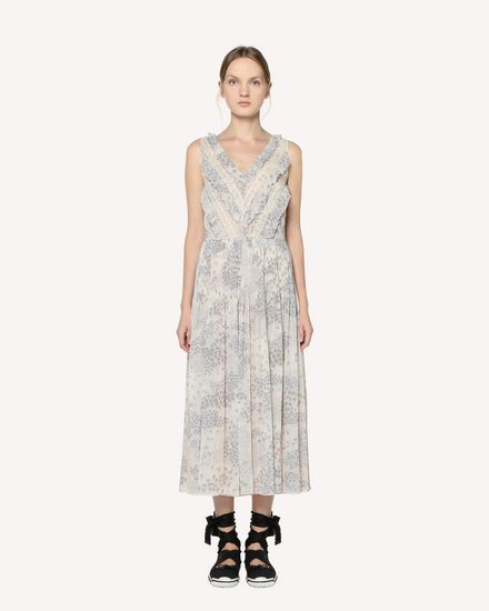 REDValentino Long dress Woman RR3VAD15ZAJ GZ7 f