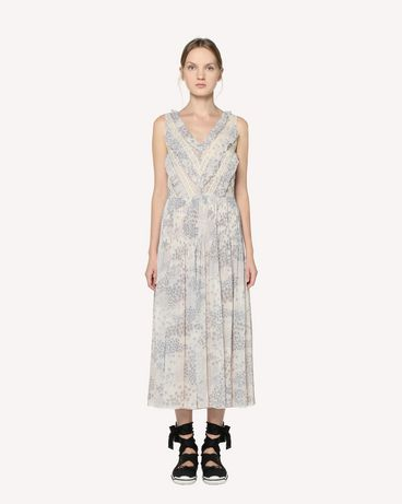 REDValentino RR3VAD15ZAJ GZ7 Long and midi dresses Woman f