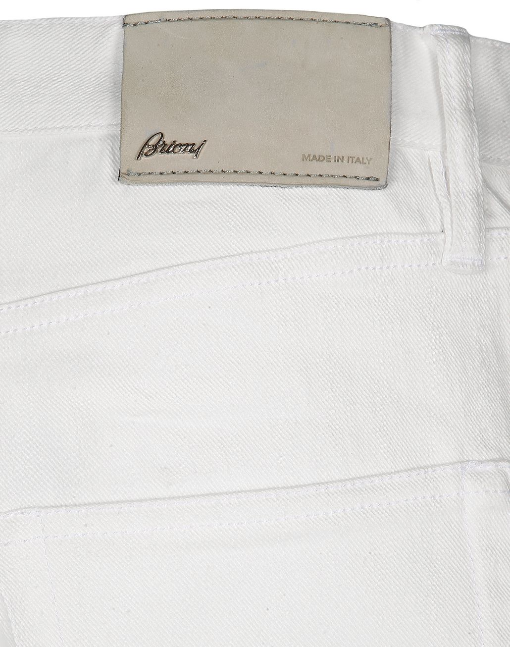 BRIONI White Denim   Trousers [*** pickupInStoreShippingNotGuaranteed_info ***] a