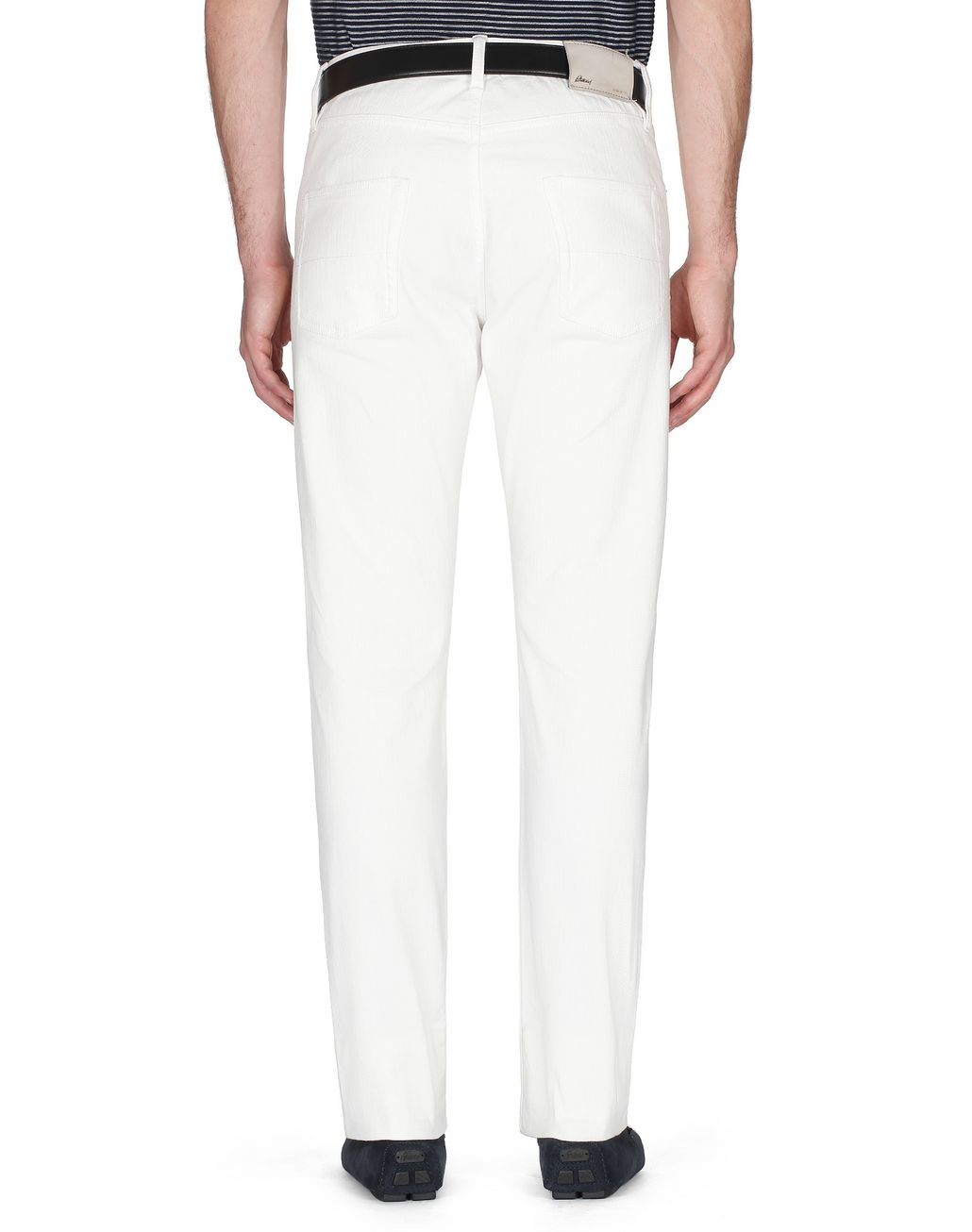 BRIONI White Denim   Trousers [*** pickupInStoreShippingNotGuaranteed_info ***] d